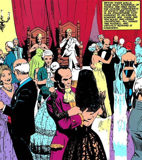 Hellfire Club (Marvel Comics) (Sebastian Shaw 2)