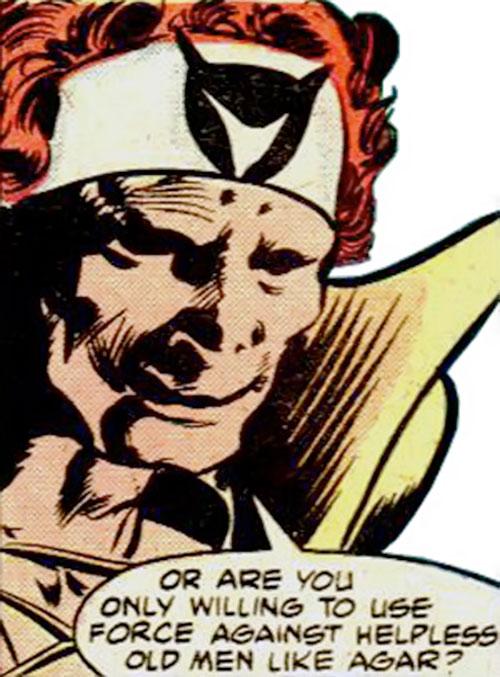 Hellrazor (Marvel Comics) face closeup