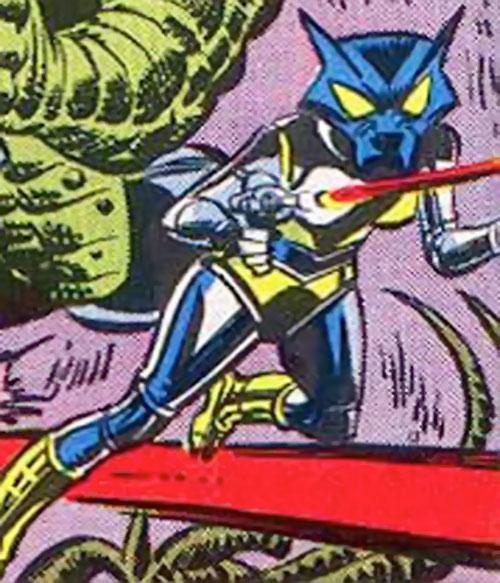 Hepzibah of the Starjammers (X-Men Marvel) in battle armor