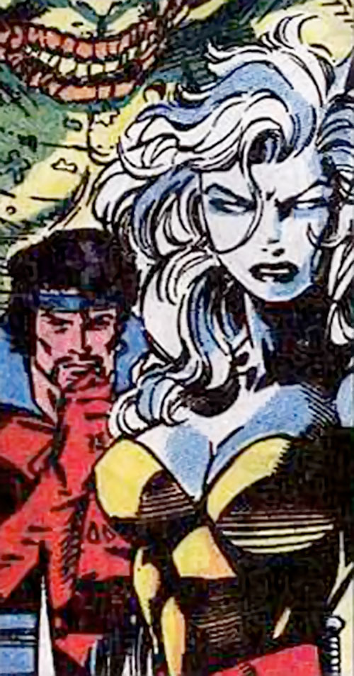 Hepzibah of the Starjammers (X-Men Marvel) and Corsair by Jim Lee