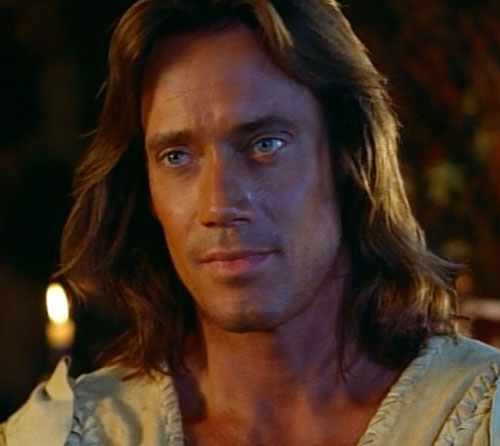 Hercules (Kevin Sorbo in Legendary Journeys) pensive face