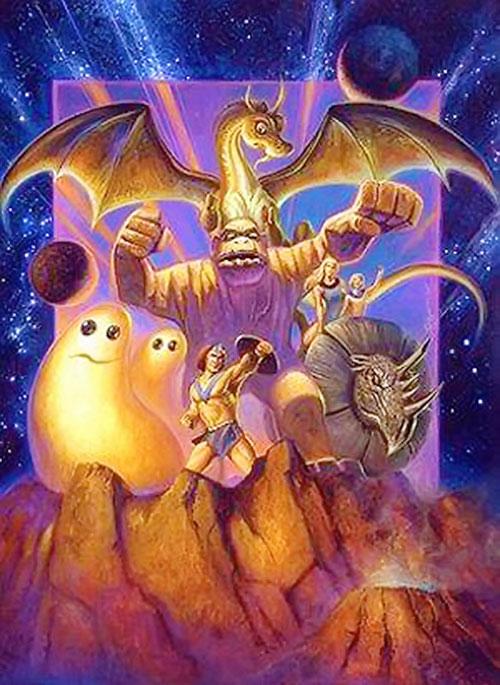 Herculoids non-cartoon fantasy art