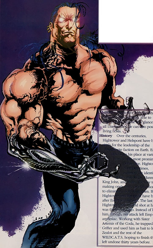 Hightower (WildCATs enemy) (Image Comics)