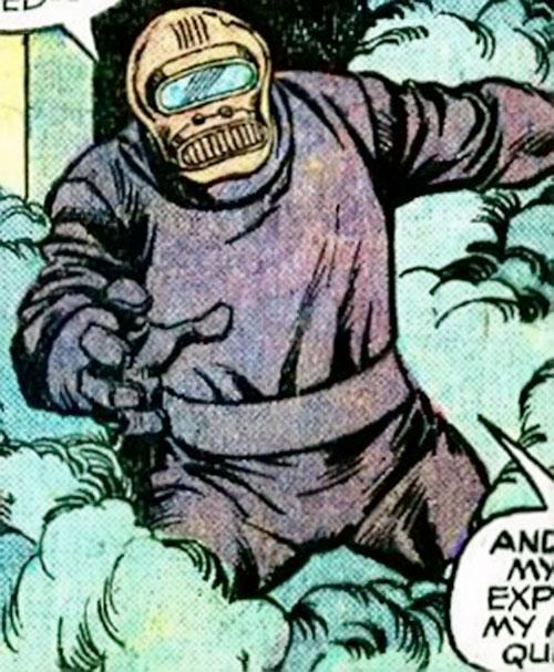 Hijacker (Marvel Comics) amidst gas