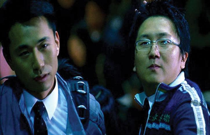 Hiro Nakamura (Masi Oka) and a friend