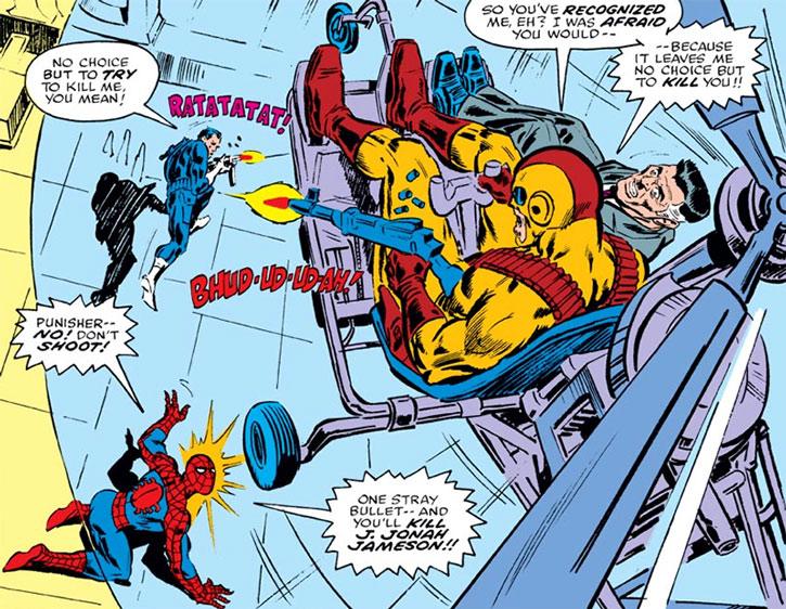 Hitman (Burt Kenyon), Spider-Man, the Punisher, J.J. Jameson