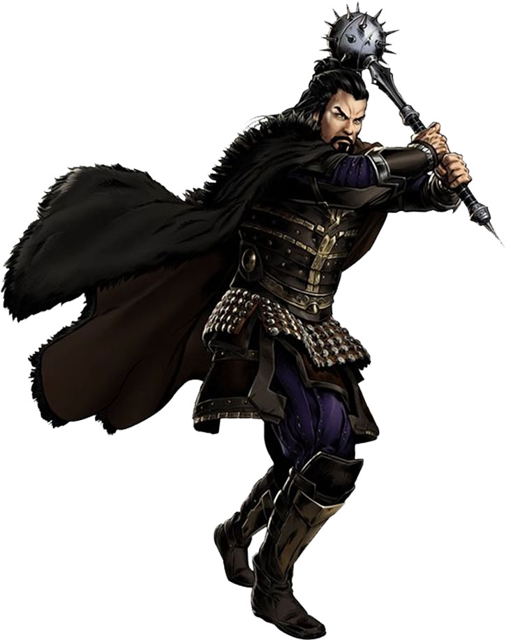 Modern Hogun with his mace