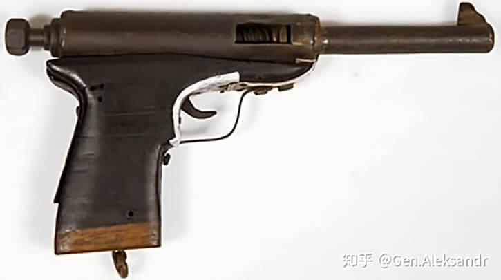 Artisanal viet cong pistol