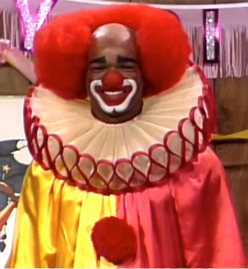 Homey D. Clown (Damon Wayans in In Living Colors) grinning