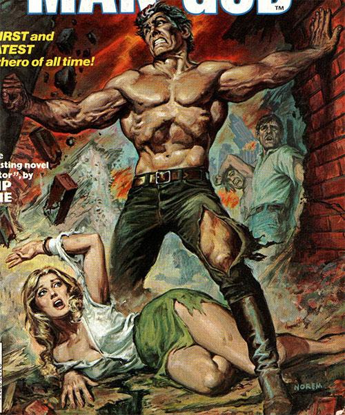 Hugo Danner (Gladiator) from the Marvel adaptation