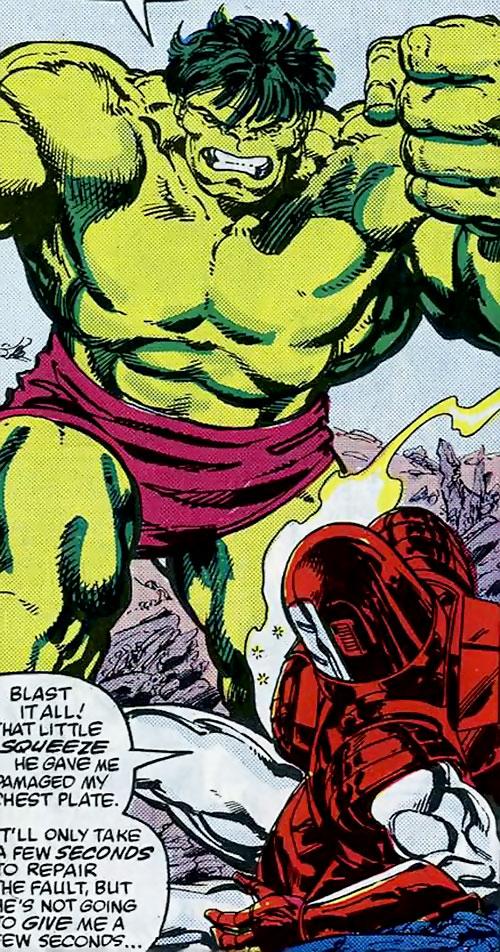Hulk (Marvel Comics iconic) vs. Iron Man