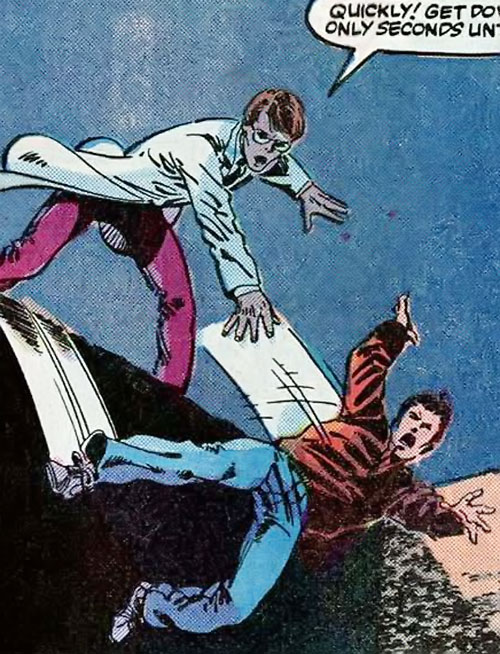 Hulk (Marvel Comics iconic) and Rick Jones Byrne