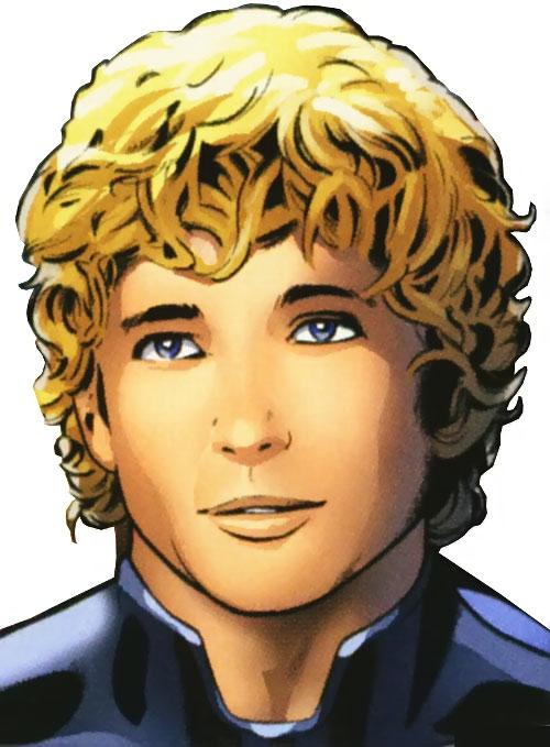 Ultimate Human Torch (Ultimate Marvel Comics) face closeup