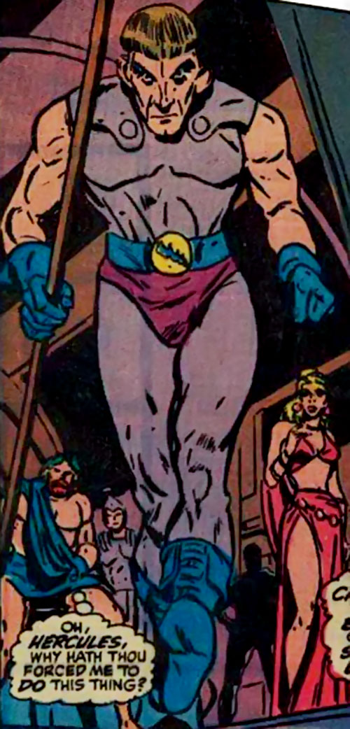 Huntsman of Zeus (Hercules and Namor enemy) (Marvel Comics) and Olympian gods
