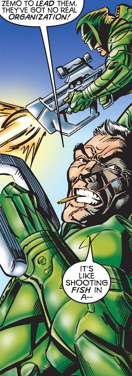 Horst Eisele of Hydra (Marvel Comics)