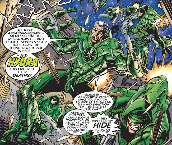 Hydra assassin squad (Marvel Comics)