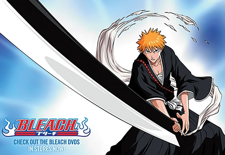 Ichigo with his sword, promotional material