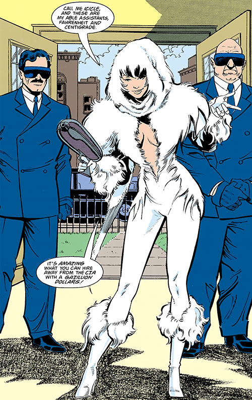 Icicle (Flash character) (DC Comics) (Doyle Christie)