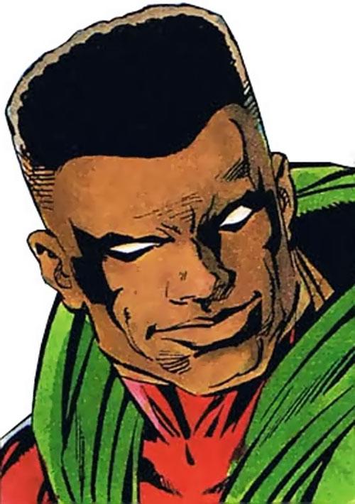Icon (Milestone comics) face closeup