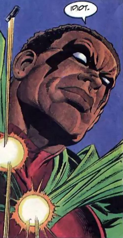 Icon (Milestone comics) ignoring bullets