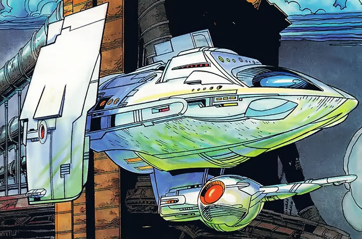 Icon's spaceship
