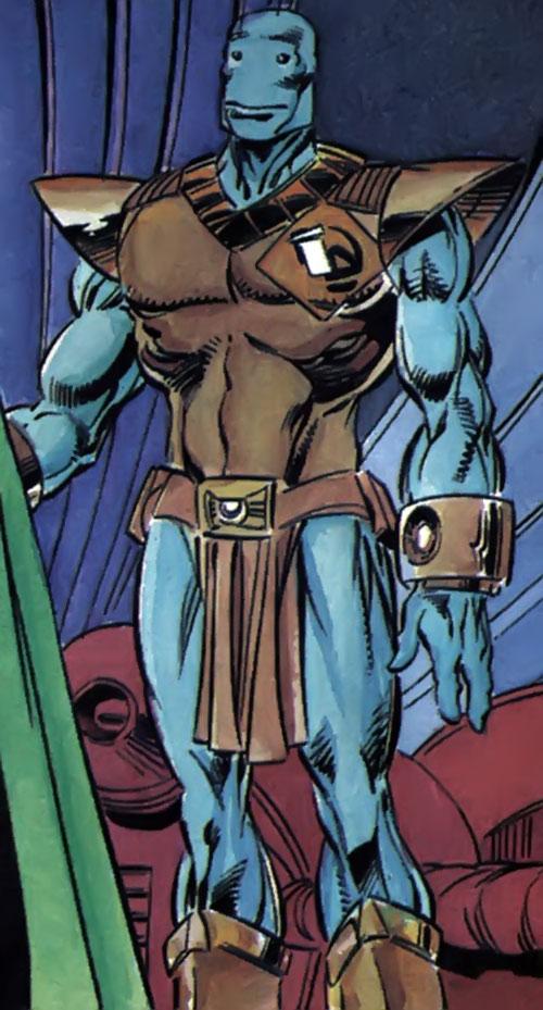 Icon (Milestone comics) in Terminan form