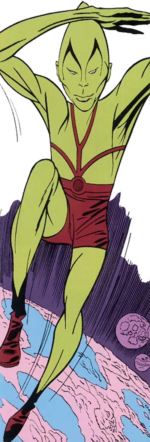 Impossible Man (Fantastic 4 character) (Marvel Comics) vintage art