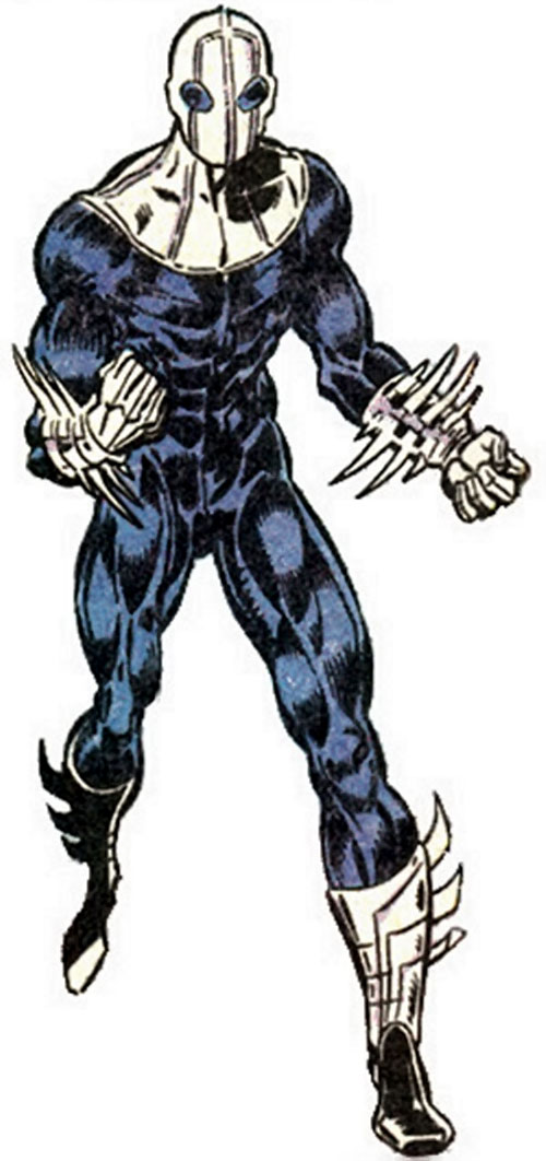 Impulse of Psionex (New Warriors enemy) (Marvel Comics)