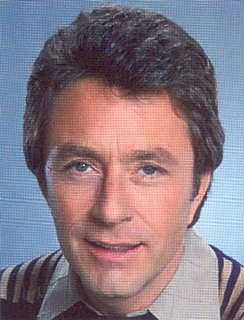 Bruce Banner (Bill Bixby) face closeup