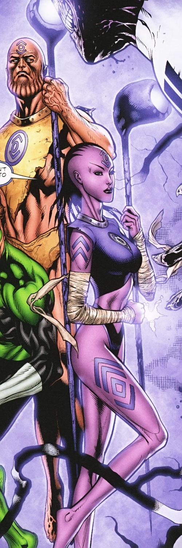 Indigo Tribe and Green Lantern (DC Comics)