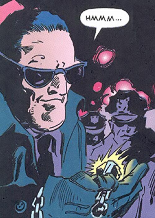 Inspector Judiah Golem (Marvel Comics) (Tomb of Dracula) face closeup