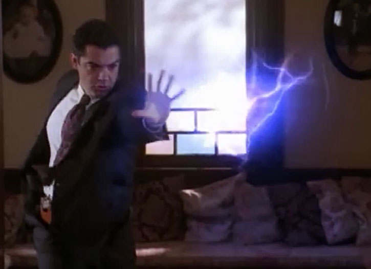Inspector Rodriguez (Carlos Gomez) uses his demonic magic