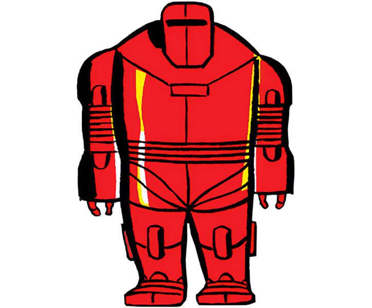 Invincible Red Robot (Marvel Comics) (Hulk enemy)