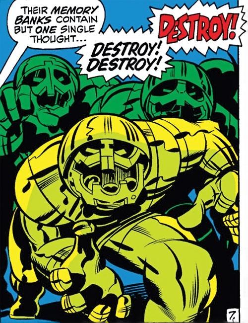Invincible Robots of Doom (Marvel Comics) (Fantastic 4 enemies)