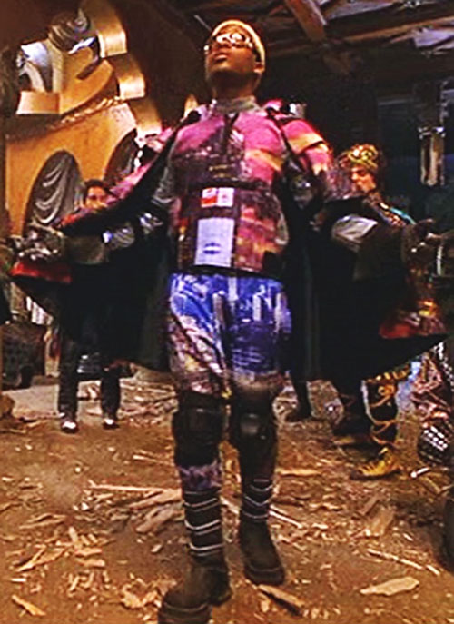 Invisible Boy (Kel Mitchell in Mystery Men) with his improved costume