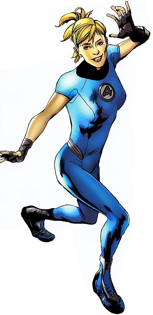 Modern Invisible Woman of the Fantastic Four (Marvel Comics)