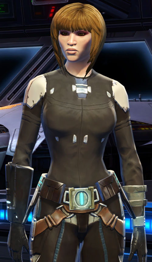 SWTOR - Star Wars the Old Republic - Badass Female Imperial agent