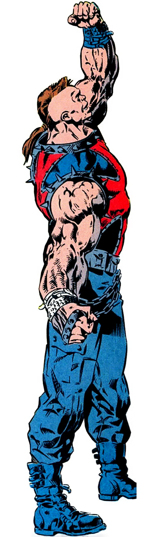 Iron Cross of the Cadre / Aryan Brigade (JLA enemy) (DC Comics)