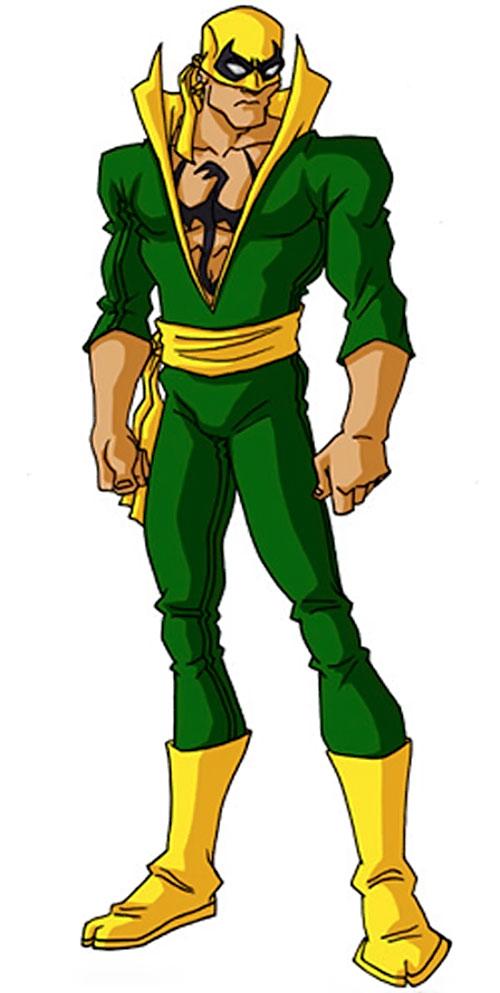 Iron Fist (Marvel Comics) by RonnieThunderbolts 3/3