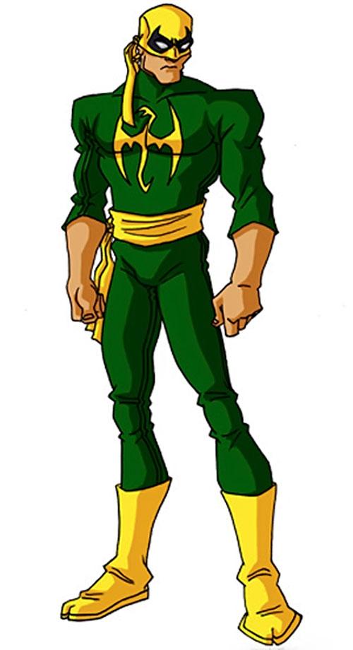 Iron Fist (Marvel Comics) by RonnieThunderbolts 2/3