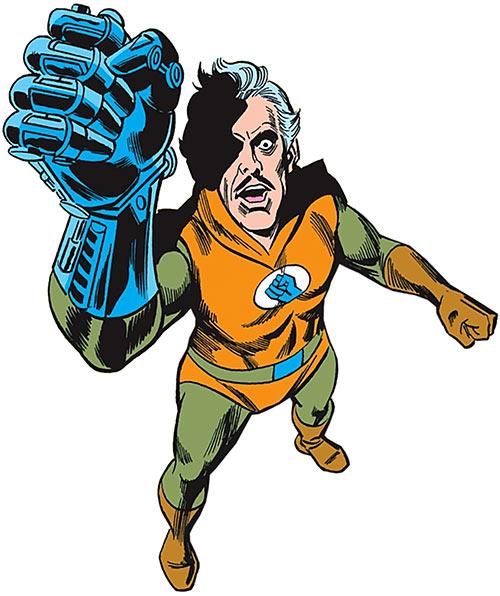 Iron Hand (JSA / JLA enemy) (DC Comics)