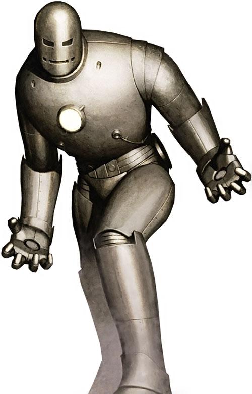 Iron Man Gray Armor suit