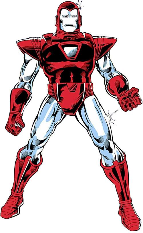 Iron Man Silver Centurion Armor (Marvel Comics)