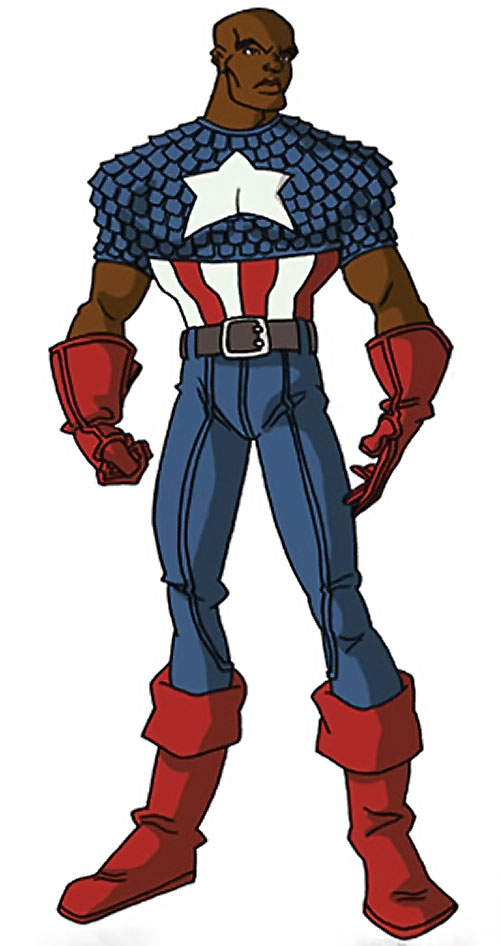 Captain America (Isaiah Bradley) (Marvel Comics Truth) by RonnieThunderbolts (no mask nor cowl)