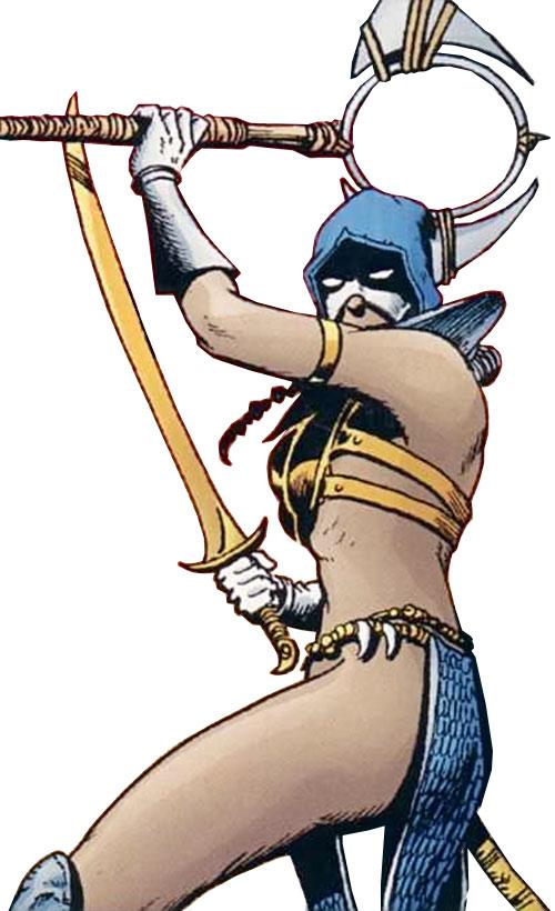Istar of Babylon (JLA ally) (DC Comics) the lady of battle