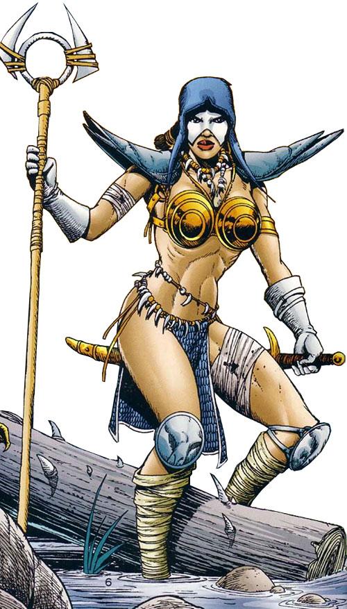 Istar of Babylon (JLA ally) (DC Comics)