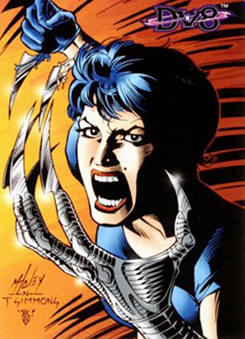 Ivana Baiul (DV8) (Wildstorm Comics) trading card
