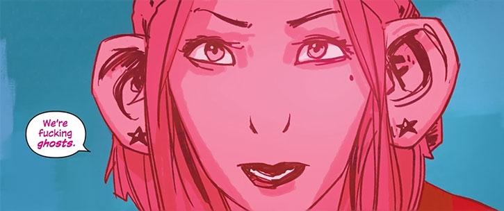 Izabel face closeup