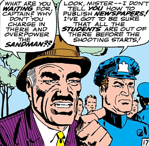 J Jonah Jameson (Spider-Man character) (Marvel Comics) by Ditko