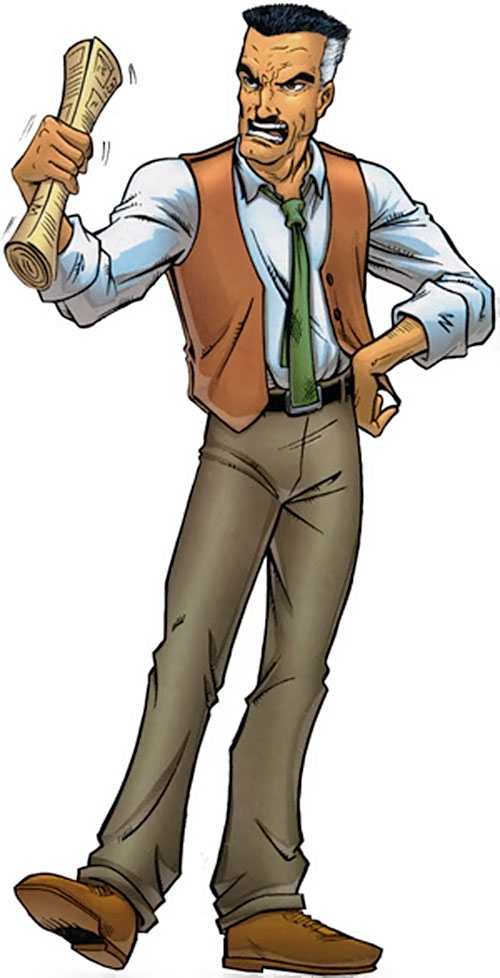 J Jonah Jameson (Spider-Man character) (Marvel Comics)